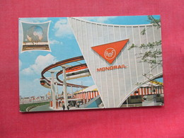 The Monorail   NY World's  Fair  1964-65  >>  Ref 3334 - Exhibitions
