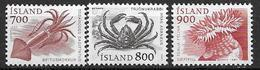 Islande 1985 N° 589/591 Neufs Animaux Marins - 1944-... Republique
