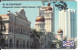 MALAYSIA(GPT) - Bangunan Sultan Abdul Samad 1993, CN : 55USBB/B(normal 0), Used - Malaysia