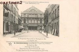 ESPERANTO BOULOGNE-SUR-MER CONGRES ESPERANTISTE 1905 M. DUCHOCHOIS MOULIN A VAPEUR ORLEANS - Boulogne Sur Mer
