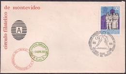 Uruguay - 1976 -  FDC - Diabète - 25 Ans De L'association Des Diabétiques De L'Uruguay - Krankheiten