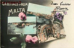 GREETINGS FROM MALTA MALTE ITALIA - Malte