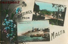 GREETINGS FROM MALTA MALTE ITALIA - Malta