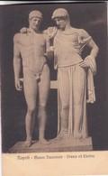 ORESTE ED ELETTRA. MUSEO NAZIONALE, NAPOLI. ED E RAGOZINO. CPA CIRCA 1900s - BLEUP - Sculture