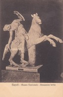 AMAZZONE FERITA. MUSEO NAZIONALE, NAPOLI. ED E RAGOZINO. CPA CIRCA 1900s - BLEUP - Sculture