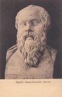 SOCRATE. MUSEO NAZIONALE, NAPOLI. ED E RAGOZINO. CPA CIRCA 1900s - BLEUP - Sculture