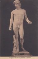 ANTINOO. MUSEO NAZIONALE, NAPOLI. ED E RAGOZINO. CPA CIRCA 1900s - BLEUP - Sculture