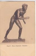 DISCOBULO. MUSEO NAZIONALE, NAPOLI. ED E RAGOZINO. CPA CIRCA 1900s - BLEUP - Sculture