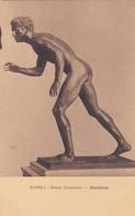 DISCOBOLO. MUSEO NAZIONALE, NAPOLI. ED E RAGOZINO. CPA CIRCA 1900s - BLEUP - Sculture