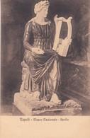 APOLLO. MUSEO NAZIONALE, NAPOLI. ED E RAGOZINO. CPA CIRCA 1900s - BLEUP - Sculture