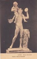 FAUNO E BACCO FANCIULLO. MUSEO NAZIONALE, NAPOLI. ED E RAGOZINO. CPA CIRCA 1900s - BLEUP - Sculture