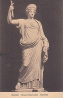 GIUNONE. MUSEO NAZIONALE, NAPOLI. ED E RAGOZINO. CPA CIRCA 1900s - BLEUP - Sculture