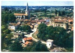 32110 PANJAS - Vue Aérienne, Au 1er Plan, Le Château - Autres Communes