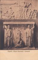 CARIATIDI. MUSEO NAZIONALE, NAPOLI. ED E RAGOZINO. CPA CIRCA 1900s - BLEUP - Sculture