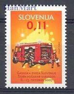 Slovenia 2007 Mi Zwa 48 MNH ( ZE2 SLNzwa48 ) - Firemen