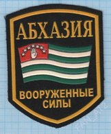 Abkhazia / Patch Abzeichen Parche Ecusson / Army. Armed Forces. - Scudetti In Tela