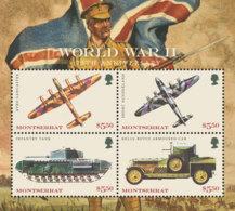 Montserrat    2018   World War II  Battle-plane ,tank  I201901 - Montserrat