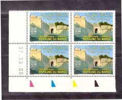 Maroc. Coin Daté  De 4 Timbres De 2006 Yvert Et Tellier  N° 1413. Porte  Bab Marshan. Tanger. - Monumentos