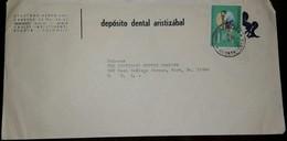 O) 1969 COLOMBIA, JUNKERSF-13- PLANE- AMPHIBIAN PLANE, AVIANCA, DEPOSITO DENTAL ARISTIZABAL, TO USA - Colombia