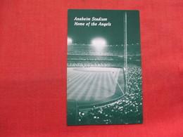 > Baseball   Anaheim Stadium Home Of The Angels       Ref 3334 - Baseball