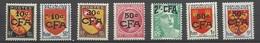 Réunion Poste   N° 281 à 284  ;  290 ;  307 Et 320  Neufs   * *  TB   =  MNH  VF.. Soldé à Moins De  20  % ! ! ! - Unused Stamps