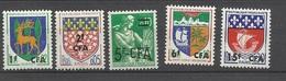 Réunion Poste   N° 342; 344; 345; 356B Et 360A  Neufs   * *  TB   =  MNH  VF.. Soldé à Moins De  20  % ! ! ! - Unused Stamps