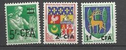 Réunion Poste   N° 342; 343;  Et  345   Neufs   * *  TB   =  MNH  VF.. Soldé à Moins De  20  % ! ! ! - Unused Stamps
