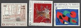 Réunion Poste   N° 426 Et 427     Neufs   * * B/ TB   =  MNH F/ VF..   Soldé à Moins De  20  %  Et Le 425 Offert  ! ! ! - Unused Stamps
