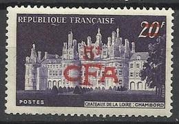 Réunion Poste   N°  298A   Château De Chambord         Neuf *  * TB =  MNH  VF          Soldé à Moins De  20  %  ! ! ! - Reunion Island (1852-1975)