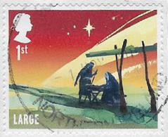GB 2015 Christmas 1st Large Good/fine Used [31/27847/ND] - 1952-.... (Elisabetta II)