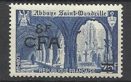 Réunion Poste   N°  302  Abbaye  Saint Wandrille         Neuf *  * TB =  MNH  VF          Soldé à Moins De  20  %  ! ! ! - Ungebraucht