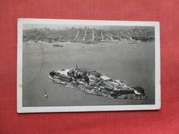 Aerial View Alcatraz Island Prison San Fran Ca.      Ref 3335 - Prison