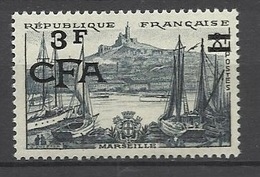 Réunion Poste   N°  322  Marseille      Neuf *  * TB =  MNH  VF          Soldé à Moins De  20  %  ! ! ! - Reunion Island (1852-1975)