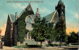 Indiana Fort Wayne Presbyterian Church 1912 - Fort Wayne