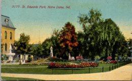 Indiana Notre Dame St Edwards Park 1912