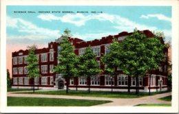 Indiana Muncie Science Hall Indiana State Normal School - Muncie