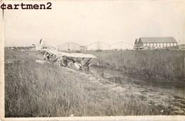 CARTE PHOTO : BERRE-L'ETANG BASE D'AVIATION HYDRAVION ACCIDENT AVIATEUR AVION 13 - Frankreich