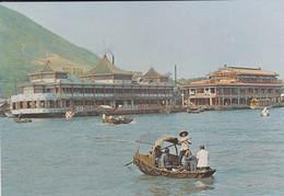 HONG KONG--aberdeen-floating Restaurants--voir 2 Scans - China (Hongkong)