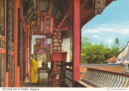 SINGAPORE--the Siong Lim Si Temple--voir 2 Scans - Singapore
