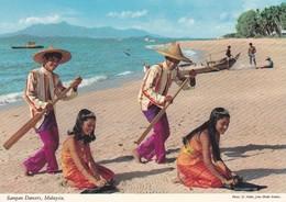 MALAYSIA--sampan Dancers--voir 2 Scans - Malaysia