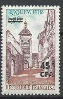Réunion Poste   N°  397    Riquewihr         Neuf *  * TB =  MNH  VF   Soldé  à Moins De 20 %  ! ! ! - Unused Stamps