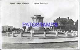 111839 CUBA HABANA FUENTE LUMINOSA POSTAL POSTCARD - Unclassified