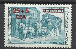 Réunion Poste   N°  414  Journée Du Timbre       Neuf *  * TB =  MNH  VF   Soldé  à Moins De 20 %  ! ! ! - Unused Stamps