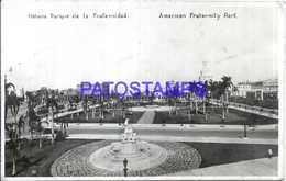111843 CUBA HABANA PARQUE DE LA FRATERNIDAD POSTAL POSTCARD - Unclassified