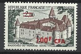 Réunion Poste   N°  417  Château De Bazoches        Neuf *  * TB =  MNH  VF   Soldé  à Moins De 20 %  ! ! ! - Unused Stamps