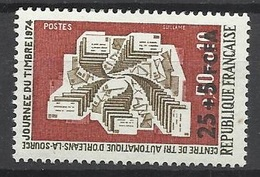 Réunion Poste   N°  423   Journée Du Timbre     Neuf *  * TB =  MNH  VF   Soldé  à Moins De 20 %  ! ! ! - Unused Stamps