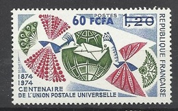 Réunion Poste   N°  428  Centenaire De L'U.P.U.      Neuf *  * TB =  MNH  VF   Soldé  à Moins De 20 %  ! ! ! - Unused Stamps
