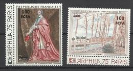 Réunion Poste   N°  423  Et  426    Neufs *  * TB =  MNH  VF   Soldé  à Moins De 20 %  ! ! ! - Unused Stamps