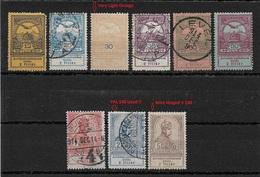 Hungary 1913, Lot Of 9 Stamps,Scott # B7//B17,Used/ Mint Hingerd* SCV 80+ - Hungary