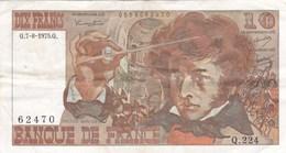 France - Billet De 10 Francs Type Hector Berlioz - 7 Août 1975 Q - 1962-1997 ''Francs''